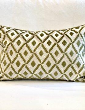 14x21 Basil Diamond Pillow
