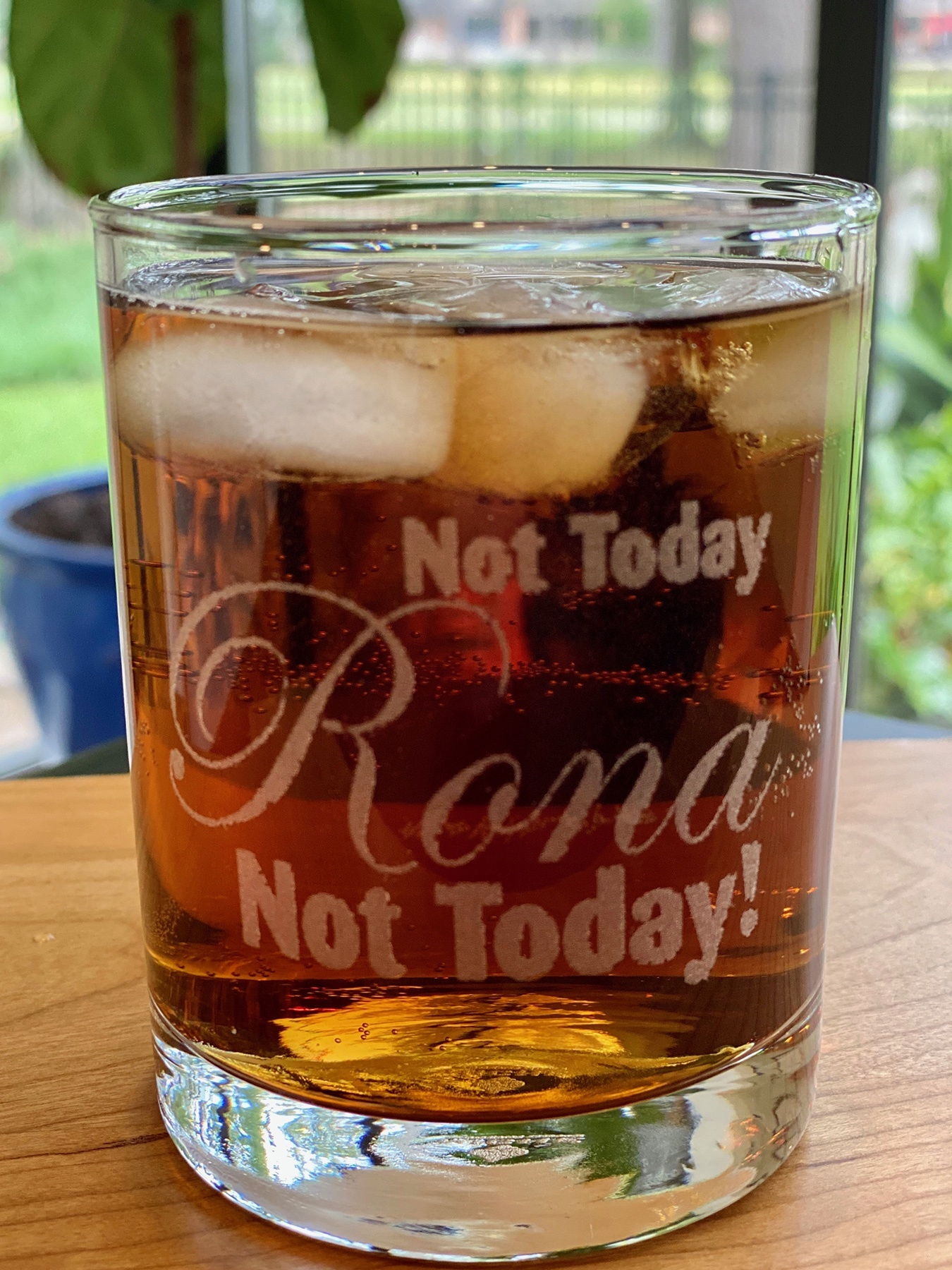 Not Today Rona! Double Old Fashioned