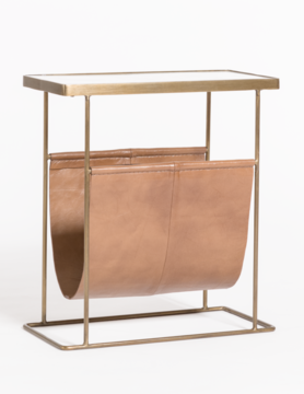 Vail Magazine Rack Side Table
