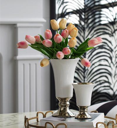 Pink Tulip Bunch