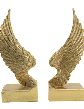 Angel Wing Book Ends 9""
