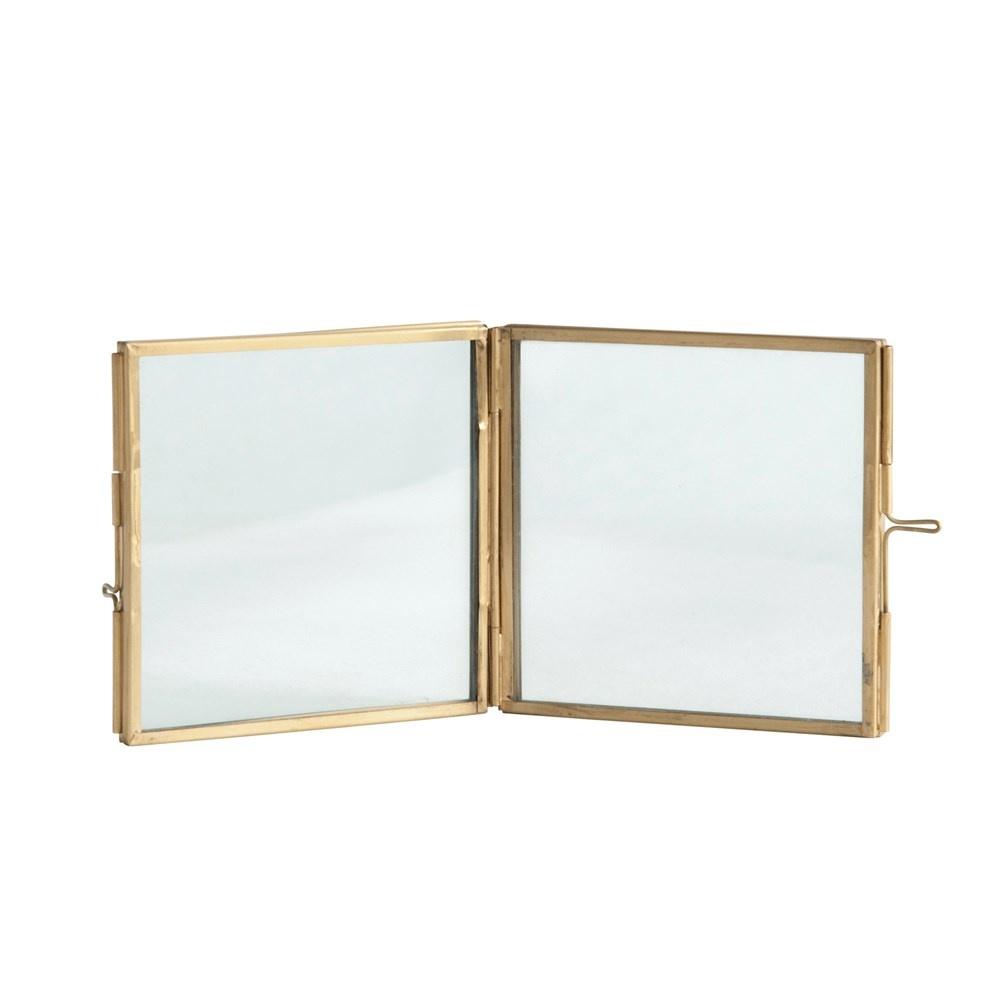 Hinged Brass Photo Frame 4x4