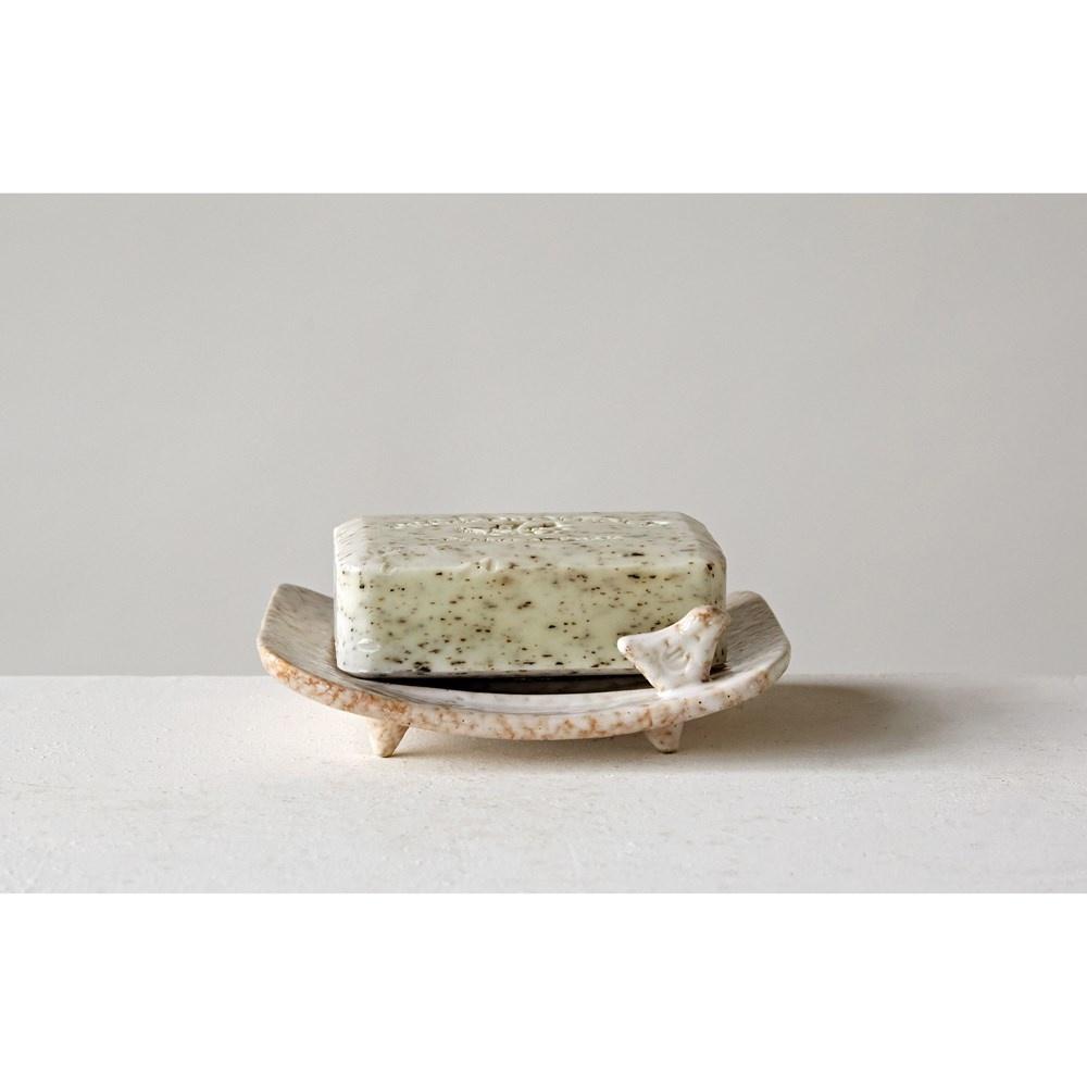 Soap Dish w/ Bird