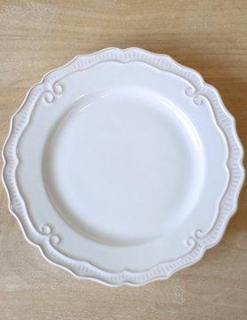 "8"" White Salad Plate"
