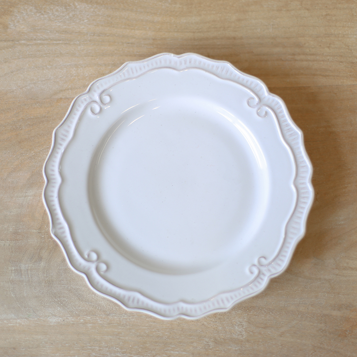 "8"" White Salad Plate"