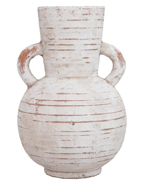 "Terracotta Vase 8""x12"""