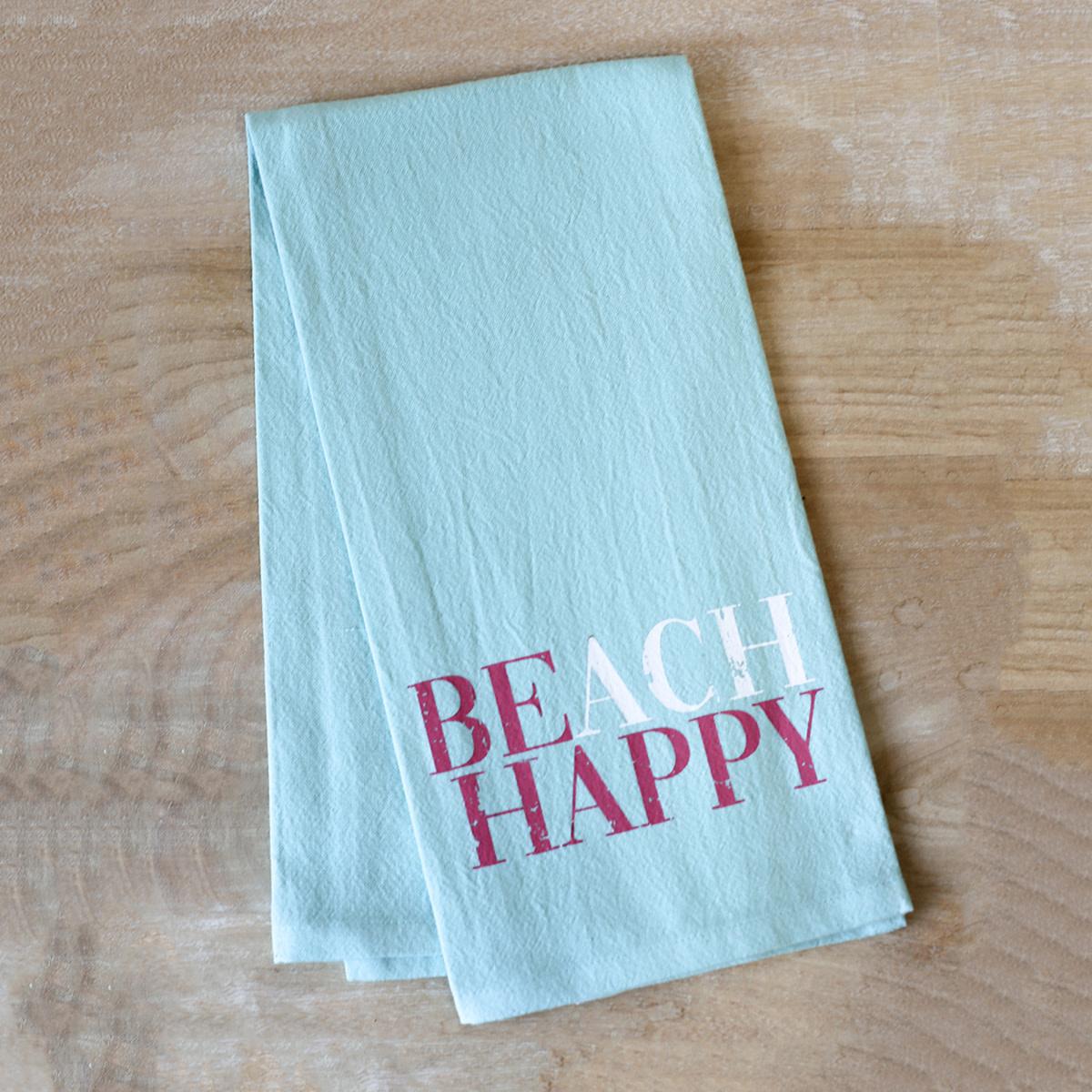 Beach Happy Hand Towel