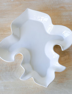 Fleur de Lis Shaped Platter