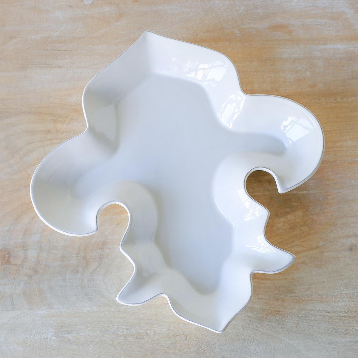 Fleur de Lis Shapped Platter