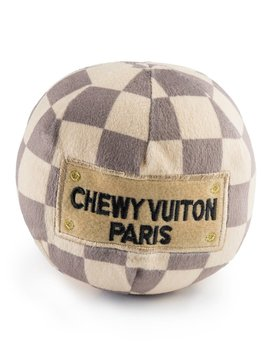 Chewy Vuiton Checker Ball LG