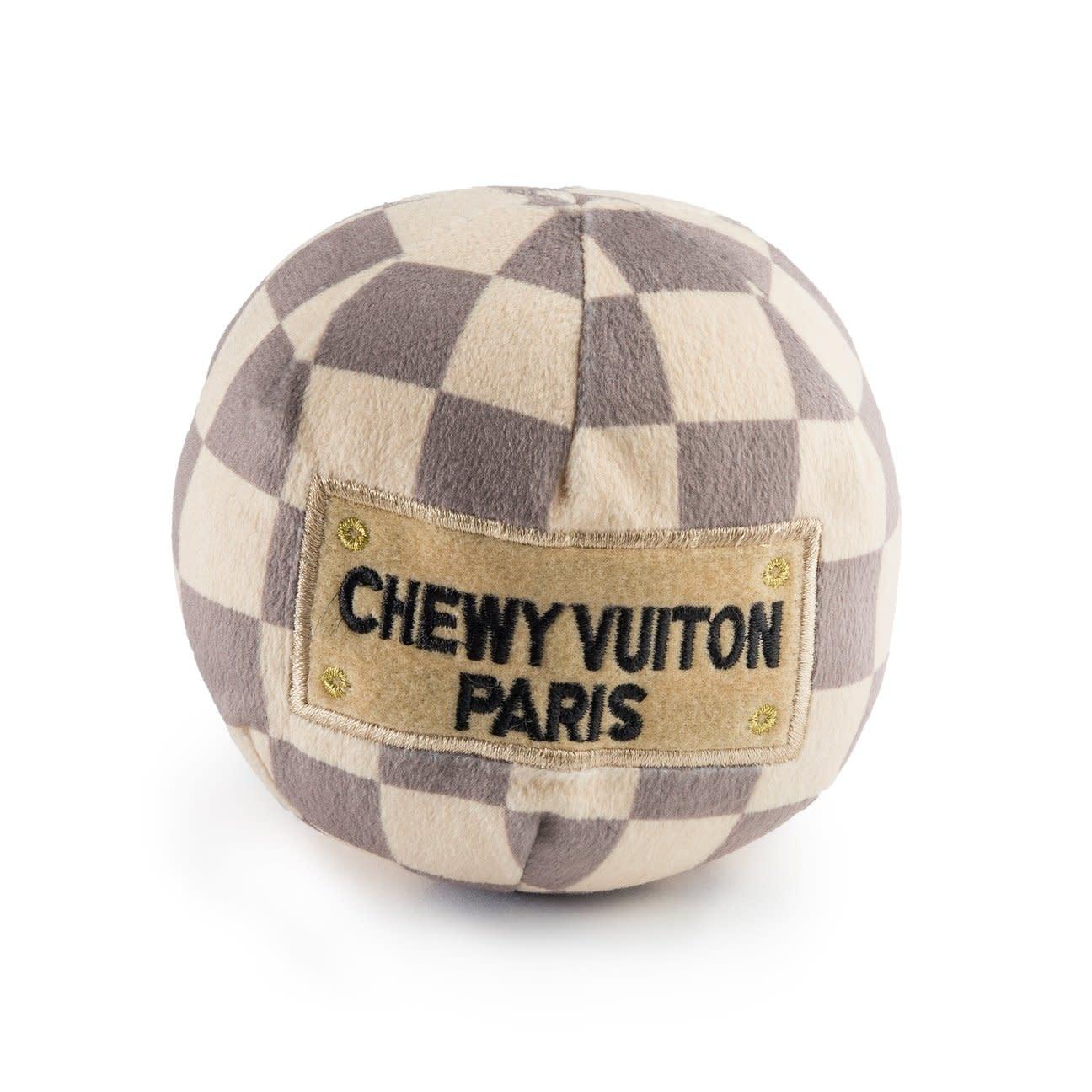 Chewy Vuiton Checker Ball LG