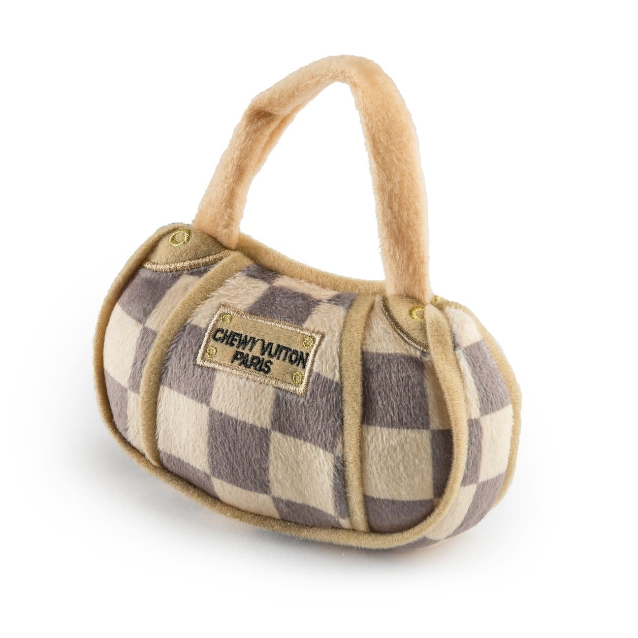 Chewy Vuiton Checker Bag SM