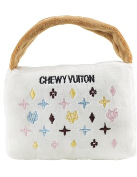 Chewy Vuiton Purse White LG