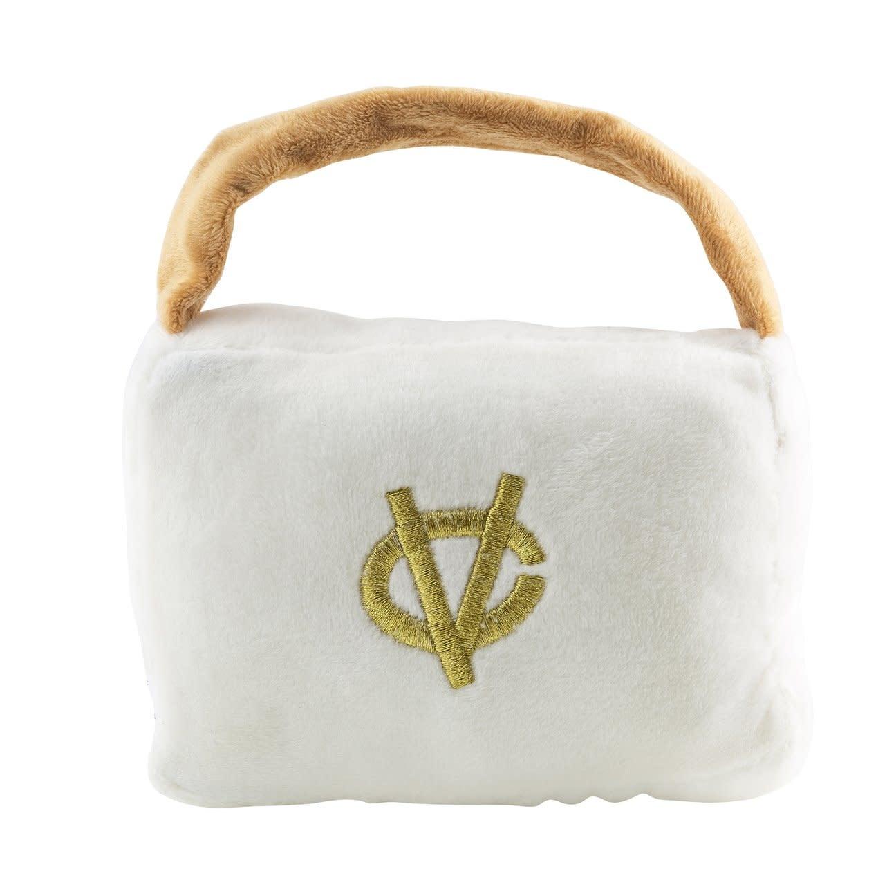 Chewy Vuiton Purse White LG