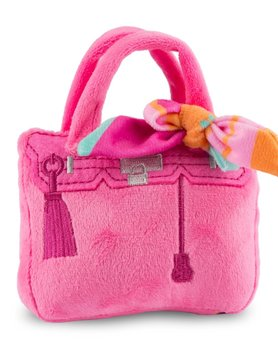 Barkin Bag - Pink w/Scarf SM