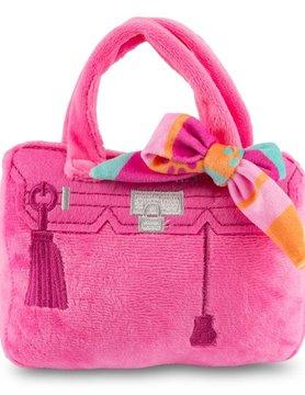 Barkin Bag - Pink w/ Scarf LG