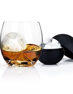4-Piece Ice Ball Mold & Tumbler Set