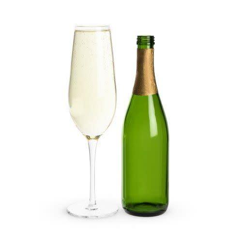 Full Bottle Prosecco Glass