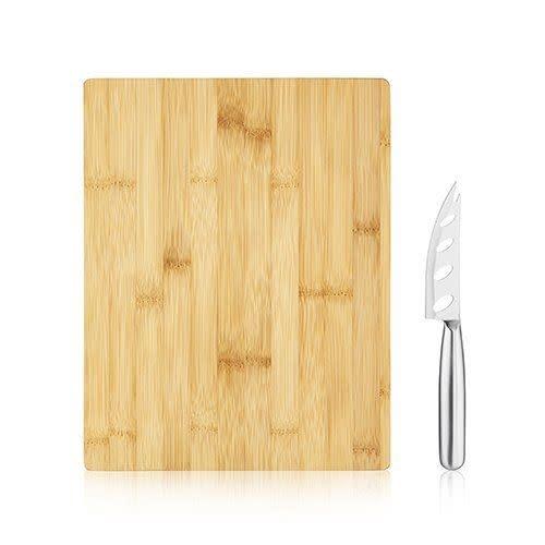 Bamboo Board & Knife Set