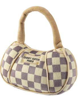 Checker Chewy Vuiton Purse XL