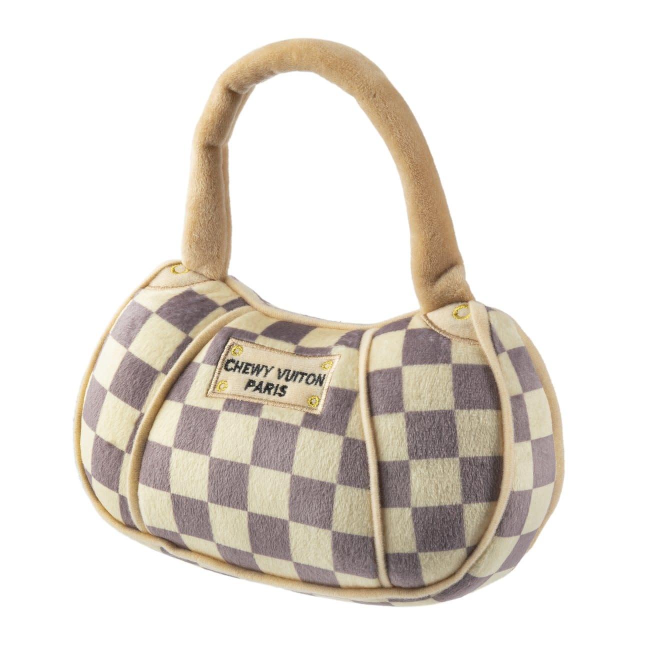 Checker Chewy Vuiton Purse XL