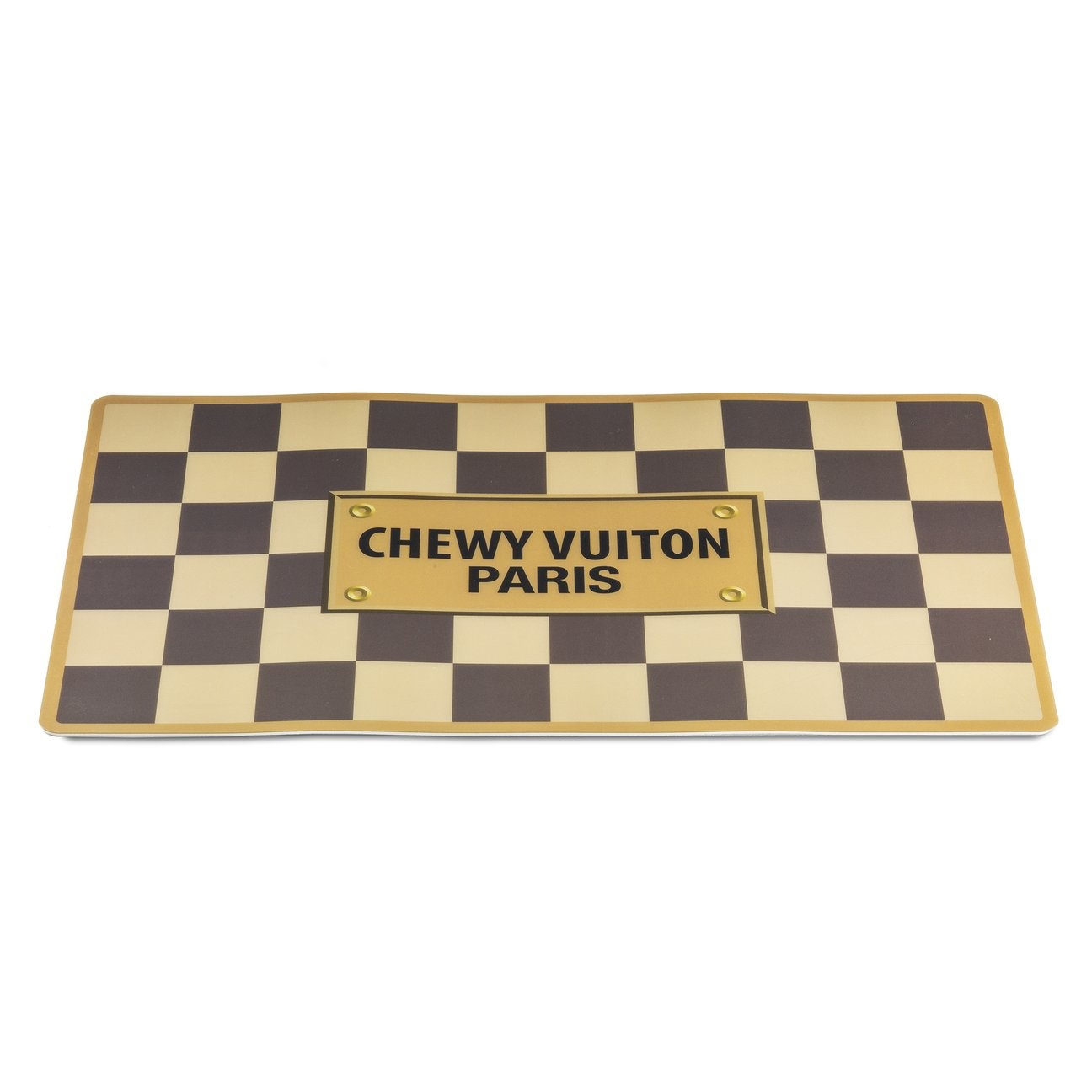 Checker Chewy Vuiton Placemat