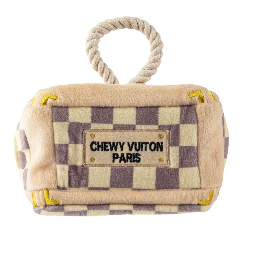 Checker Chewy Vuiton Trunk - Activity House
