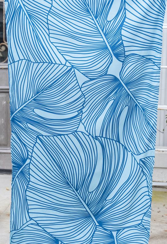 Beach Towel in Sky/Royal