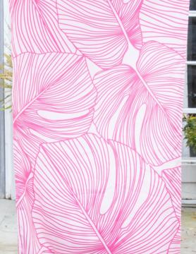 Beach Towel in Pink