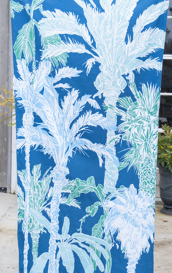 Beach Towel in Royal/Parakeet