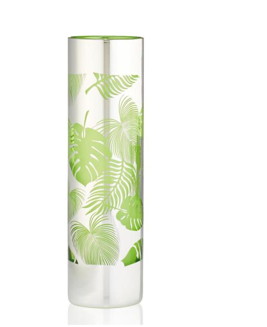 Tropical Leaves Cocktail Glass