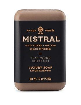 Men's 250g Bar Soap-TEAKWOOD