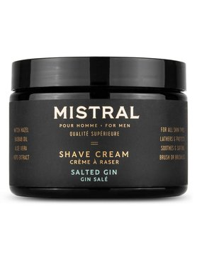Salted Gin Shave Cream 9oz