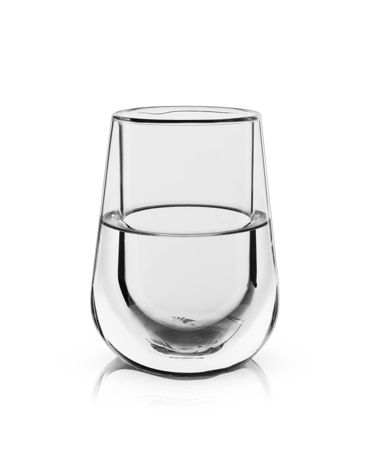 Double-Walled Chiling Wine Glass