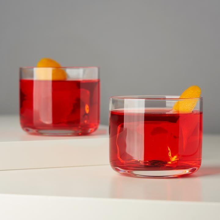 Crystal Negroni Glasses