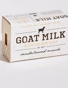 SFS Sandalwood & Musk Goats Milk 10oz Bar