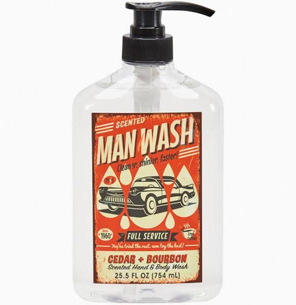 Man Wash Body Wash 25.5floz CEDAR & BOURBON