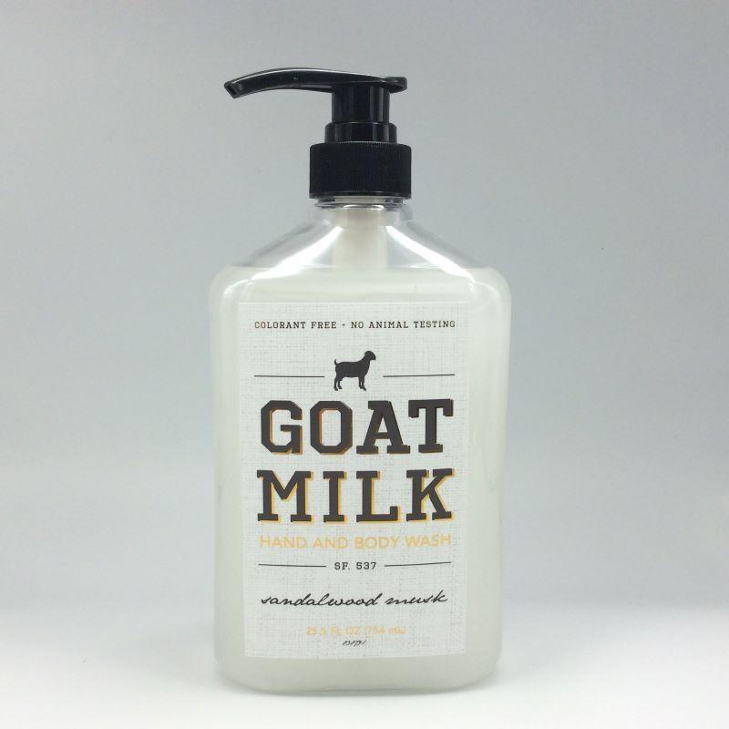 Goats Milk, Sandalwood & Musk Body Wash