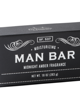 Men's 10oz Midnight Amber Bath Bar