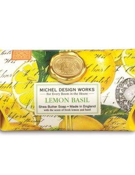 Lemon Basil LG Soap Bar