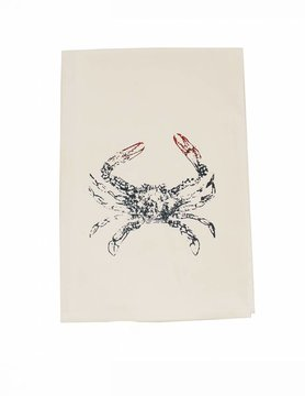 Crabby Tea Towel