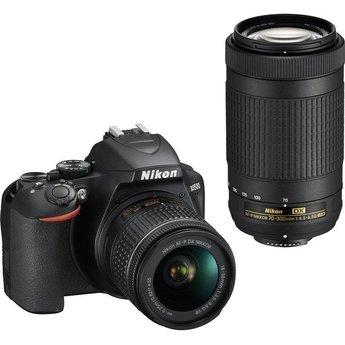 Nikon Nikon D3500 18-55 VR + 70-300 Kit (Black) #1588