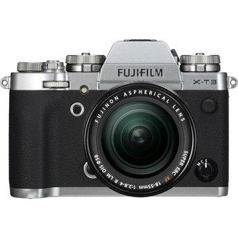 Fujifilm Fujifilm X-T3 18-55mm Kit (Silver) w/ battery grip VG-XT3