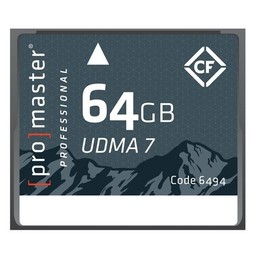Promaster 64GB CF Rugged