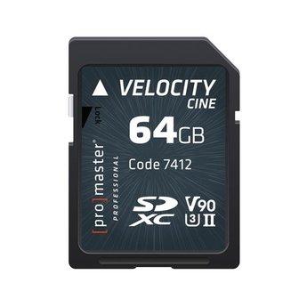 Promaster PRO 64GB SD Velocity CINE #7412