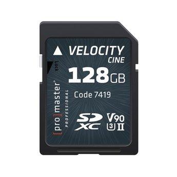 Promaster PRO 128GB SD Velocity CINE #7419