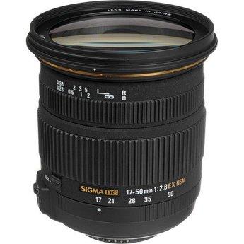 Used Sigma 17-50mm 2.8 EX DC OS (Nikon)