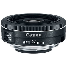 Used canon 24mm STM