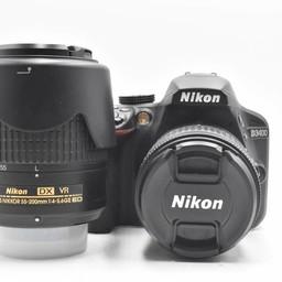 Used Nikon D3400 2-Lens VR kit