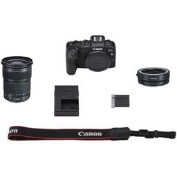 Canon EOS RP w/ EF 24-105mm f/3.5-5.6 STM Lens & Mount Adapter Lens Kit